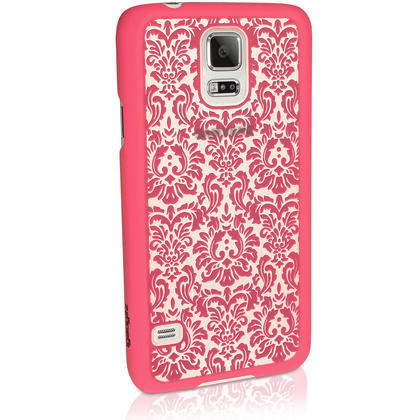 iGadgitz ?3D Designer Collection?? Pattern Hard Case for Samsung Galaxy S5 SV SM-G900 + Screen Prot. (various colours) Thumbnail 4