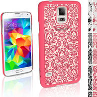 iGadgitz ?3D Designer Collection?? Pattern Hard Case for Samsung Galaxy S5 SV SM-G900 + Screen Prot. (various colours)