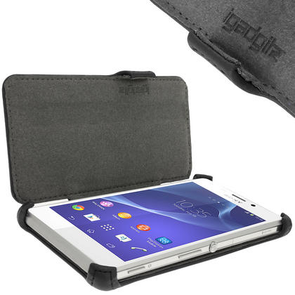 iGadgitz PU Leather Wallet Case for Sony Xperia M2 D2303 with Viewing stand + Screen Protector (various colours) Thumbnail 4