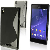 iGadgitz S-Line TPU Gel Case for Sony Xperia T3 D5102 + Screen Protector (various colours)
