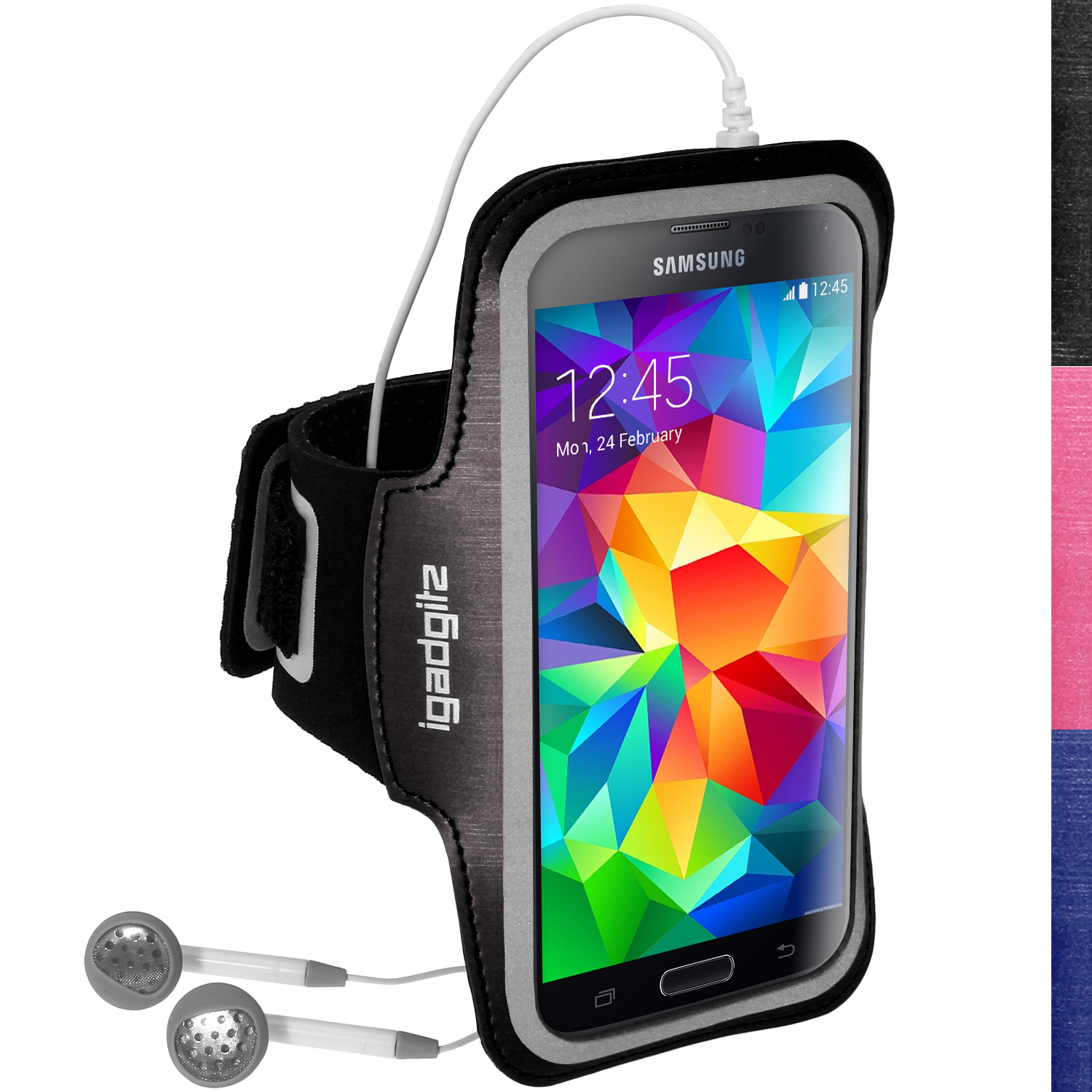 Running jogging sports armband for samsung galaxy s5 mini sm g800 fitness gym