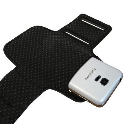iGadgitz Reflective Anti-Slip Sports Armband for Samsung Galaxy S5 SV MINI SM-G800F with Key Slot (various colours) Thumbnail 2