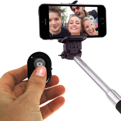 iGadgitz Selfie Bluetooth Remote Shutter Camera Activation for Apple iOS and Android Phone and Tablets (various colours) Thumbnail 7