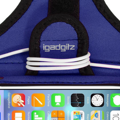 "iGadgitz Water Resistant Sports Jogging Gym Armband for Apple iPhone 6 & 6S 4.7"" Thumbnail 3"