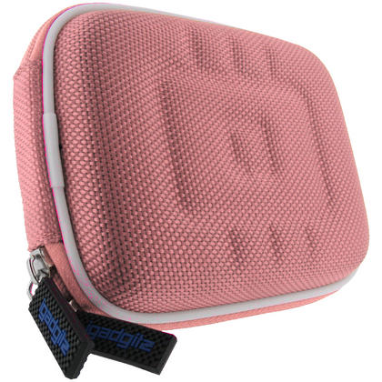 iGadgitz Pink EVA Travel Hard Case Cover for Digital Cameras / Video Pocket Camcorders Thumbnail 3