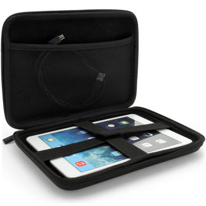 iGadgitz Black EVA Travel Hard Case for Apple iPad Mini 1st Gen & 2nd Gen with Retina Display (launched Oct 13) Thumbnail 4