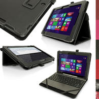 "iGadgitz PU Leather Case for Asus Transformer Pad TF103C 10.1"" with Stand, Stylus Holder, Screen Prot. (various colours)"