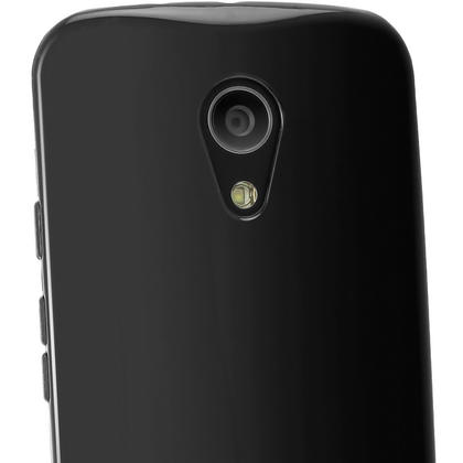 iGadgitz Glossy TPU Gel Case for Motorola Moto G 2nd Generation 2014 XT1068 (G2) + Screen Prot. (various colours) Thumbnail 3