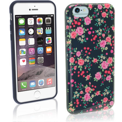 "iGadgitz ""Designer Collection"" Glossy TPU Gel Skin Case Cover for Apple iPhone 6 & 6S 4.7"" + Screen Protector Thumbnail 2"