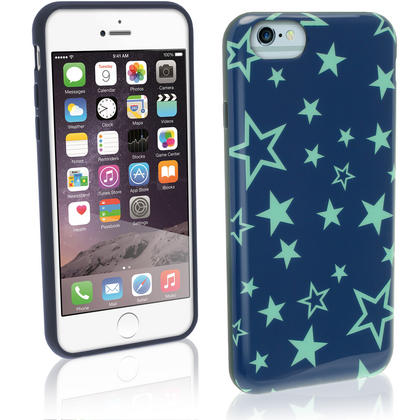 "iGadgitz ""Designer Collection"" Glossy TPU Gel Skin Case Cover for Apple iPhone 6 & 6S 4.7"" + Screen Protector Thumbnail 4"