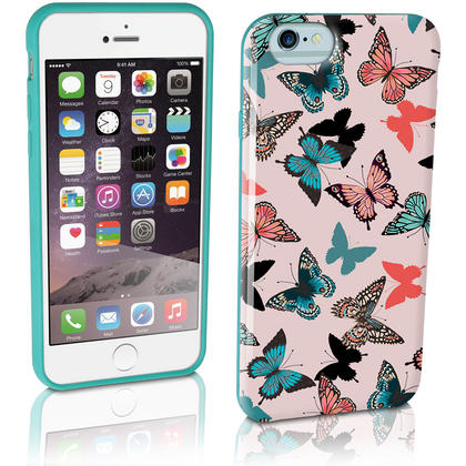 "iGadgitz ""Designer Collection"" Glossy TPU Gel Skin Case Cover for Apple iPhone 6 & 6S 4.7"" + Screen Protector Thumbnail 3"