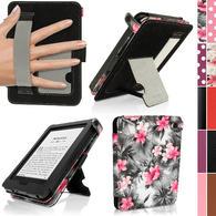 Pink on Black Floral