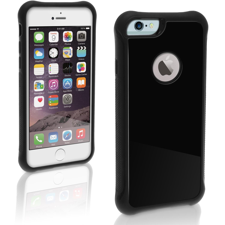 igadgitz pc tpu heavy duty shock resistant bumper case cover for apple iphone 6 6s plus 5 5. Black Bedroom Furniture Sets. Home Design Ideas