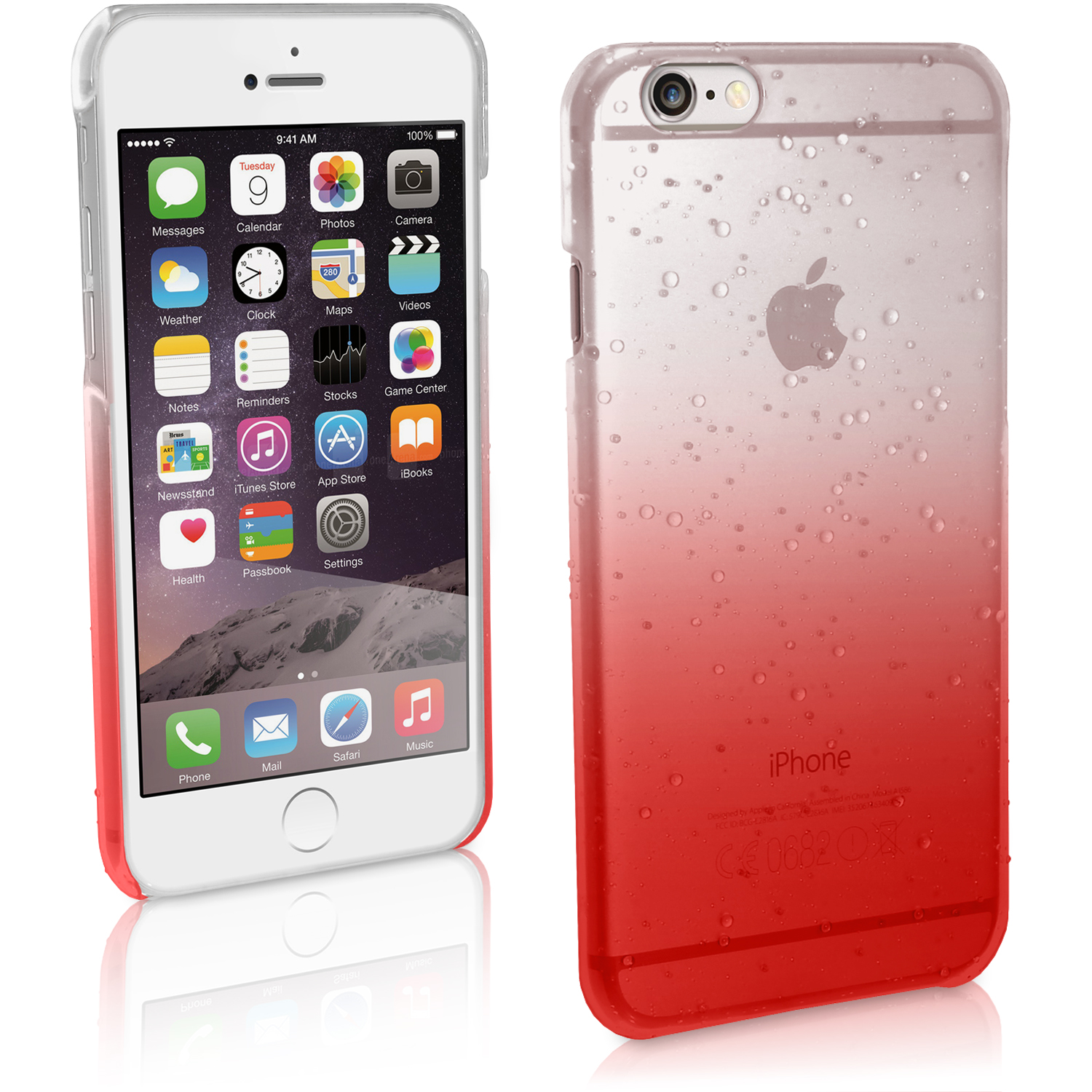 iphone video chat funda carcasa gotas de lluvia para apple iphone 6 amp 6s 4 7 3266
