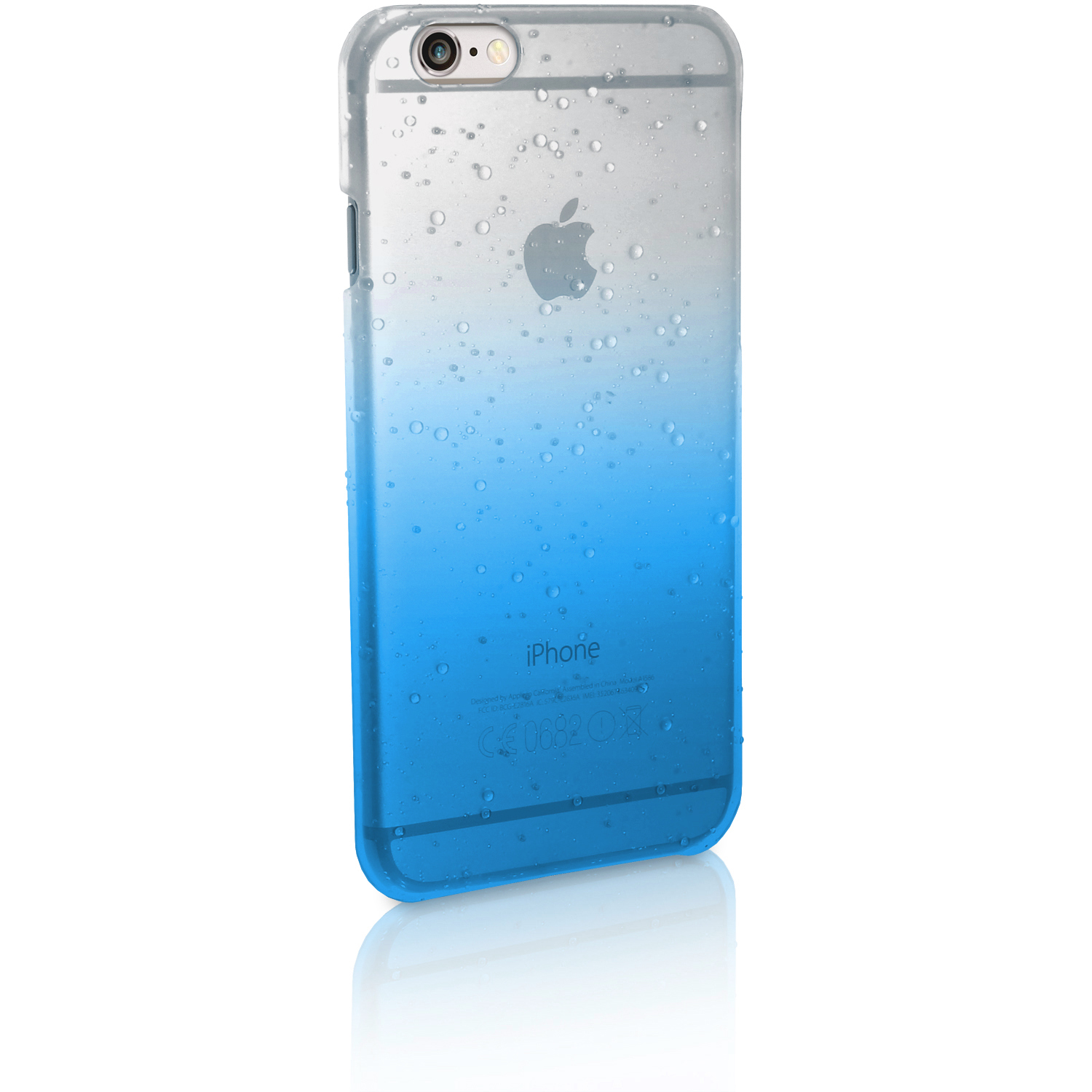 Raindrop Slim PC Hard Back Case Cover for Apple iPhone 6   6S 4.7