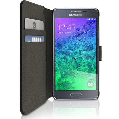 BOOK STYLE PU LEATHER CASES FOR SAMSUNG GALAXY ALPHA Thumbnail 3