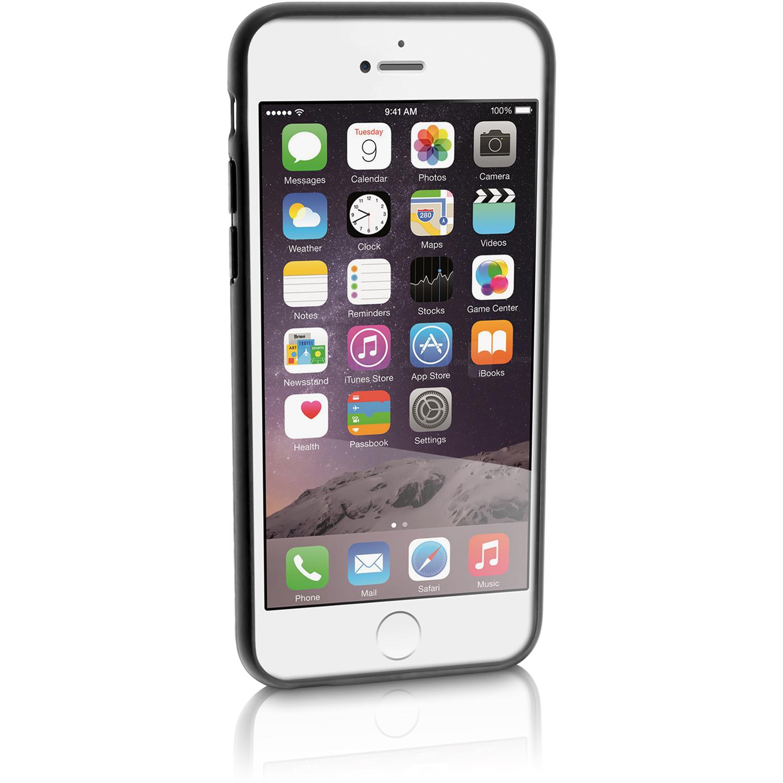 igadgitz black tyre tread tpu gel skin case cover for apple iphone 6 6s 4 7 screen. Black Bedroom Furniture Sets. Home Design Ideas