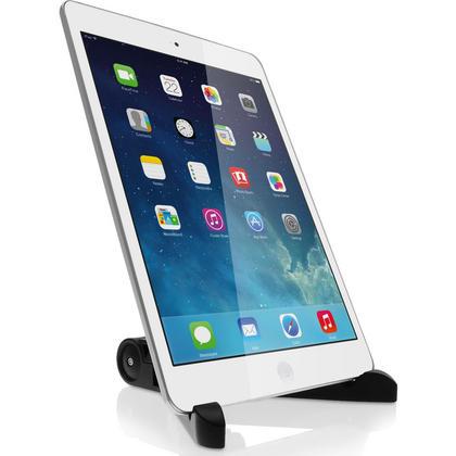 iGadgitz Black Adjustable Tablet Plastic Holder Stand (iPad Air Mini, Samsung Tab, Sony Xperia Tablet, ASUS, Kobo etc) Thumbnail 3