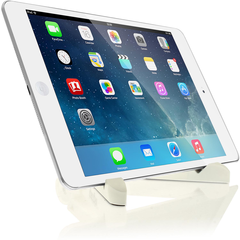 iGadgitz White Adjustable Tablet Plastic Holder Stand (iPad Air Mini ...