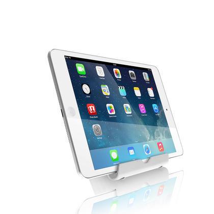 iGadgitz Aluminium Adjustable Tablet & Smartphone Holder Stand (iPhones iPad Motorola Samsung Sony Xperia HTC etc) Thumbnail 3