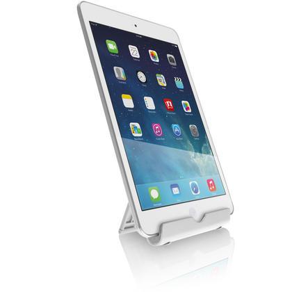 iGadgitz Aluminium Adjustable Tablet & Smartphone Holder Stand (iPhones iPad Motorola Samsung Sony Xperia HTC etc) Thumbnail 4