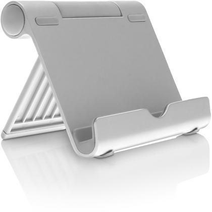 iGadgitz Aluminium Adjustable Tablet & Smartphone Holder Stand (iPhones iPad Motorola Samsung Sony Xperia HTC etc) Thumbnail 6