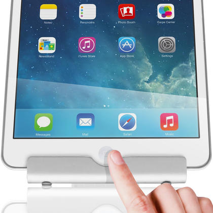 iGadgitz Aluminium Adjustable Tablet & Smartphone Holder Stand (iPhones iPad Motorola Samsung Sony Xperia HTC etc) Thumbnail 8