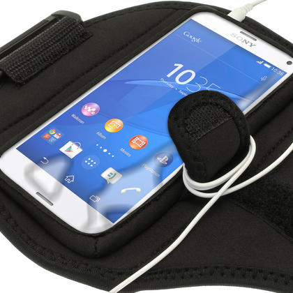 iGadgitz Water Resistant Sports Jogging Gym Armband for Sony Xperia Z3 Compact D5803 D5833 Thumbnail 4