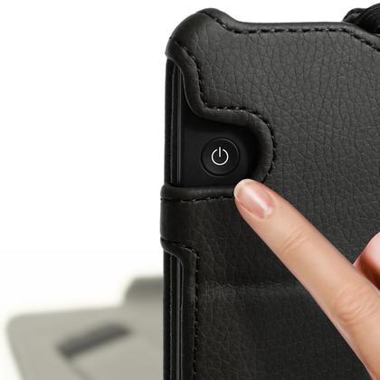 iGadgitz PU Leather Stand Case for Amazon Kindle Voyage 2014 Flip Folio Cover with Sleep Wake Thumbnail 3