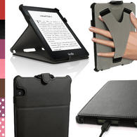 iGadgitz PU Leather Stand Case for Amazon Kindle Voyage 2014 Flip Folio Cover with Sleep Wake