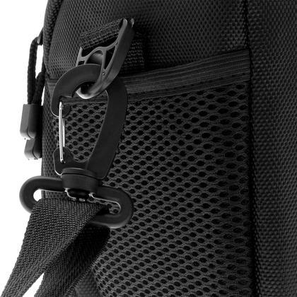 iGadgitz Small Black Water-Resistant SLR DSLR Bridge Camera Holster Travel Bag Case with Shoulder Strap Thumbnail 5