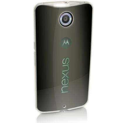 iGadgitz Glossy TPU Gel Skin Case Cover for Motorola Google Nexus 6 XT1100 XT1103 + Screen Protector Thumbnail 3