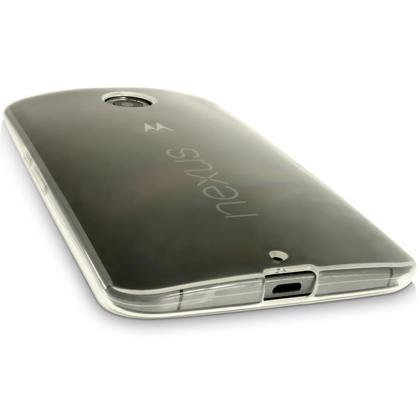 iGadgitz Glossy TPU Gel Skin Case Cover for Motorola Google Nexus 6 XT1100 XT1103 + Screen Protector Thumbnail 2