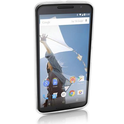 iGadgitz Glossy TPU Gel Skin Case Cover for Motorola Google Nexus 6 XT1100 XT1103 + Screen Protector Thumbnail 4