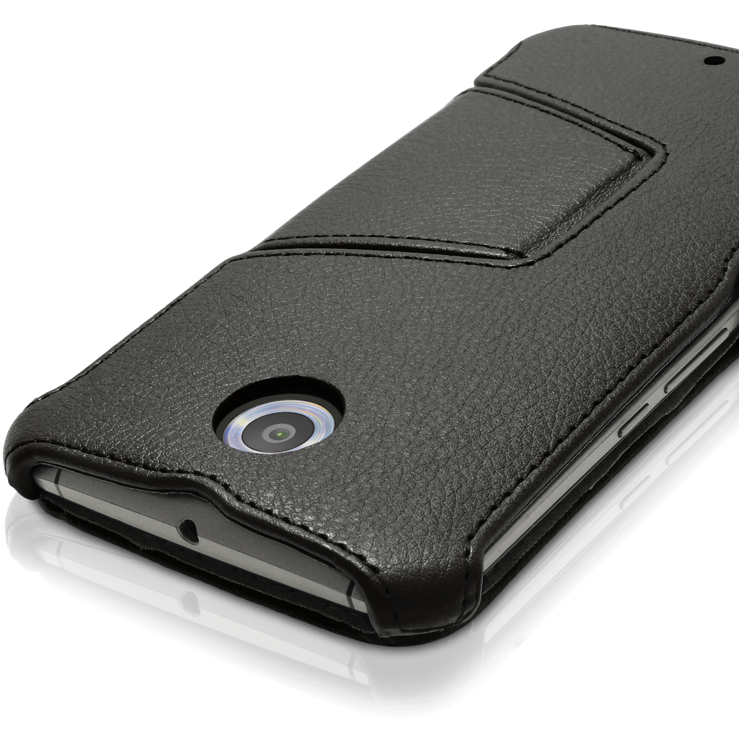 new style 30493 78bed Details about PU Leather Flip Case for Motorola Google Nexus 6 XT1100 Stand  Book Folio Cover