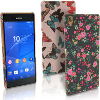 iGadgitz '3D Designer Collection' PC Hard Case Cover for Sony Xperia Z3 D6603 D6633 + Screen Protector