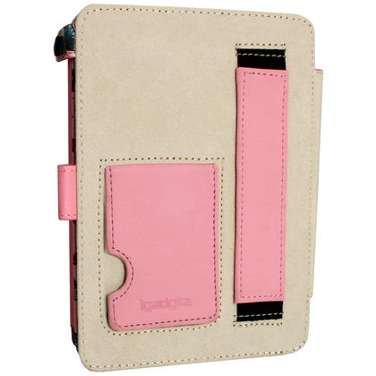 iGadgitz 'Desginer Collection' PU Leather Case for Amazon Kindle Paperwhite 2015 2014 2013 2012 With Sleep Wake + Stand  Thumbnail 5