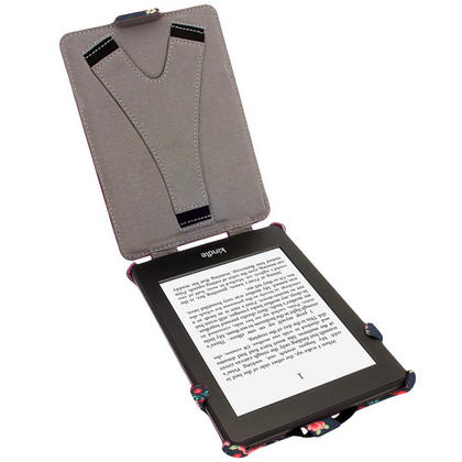 iGadgitz 'Desginer Collection' Executive PU Leather Case for Amazon Kindle Paperwhite 2015 2014 2013 2012 + Sleep Wake Thumbnail 2