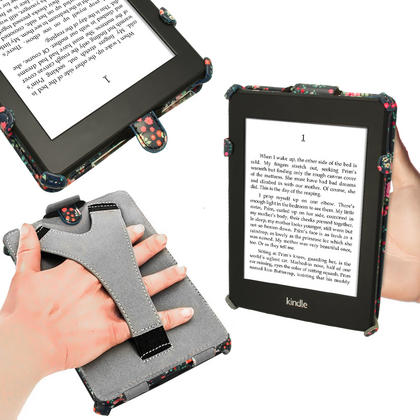 iGadgitz 'Desginer Collection' Executive PU Leather Case for Amazon Kindle Paperwhite 2015 2014 2013 2012 + Sleep Wake Thumbnail 4