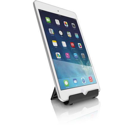 iGadgitz Black Aluminium Adjustable Tablet & Smartphone Holder Stand (iPhones iPad Motorola Samsung Sony Xperia HTC etc) Thumbnail 4