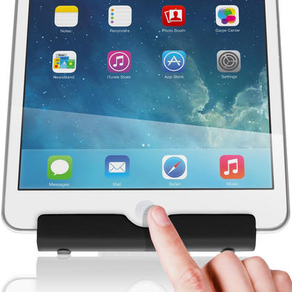 iGadgitz Black Aluminium Adjustable Tablet & Smartphone Holder Stand (iPhones iPad Motorola Samsung Sony Xperia HTC etc) Thumbnail 8