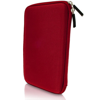 "iGadgitz Red EVA Hard Carry Case for Sony Xperia Z4 SGP771 10.1"" Tablet Bag Thumbnail 2"