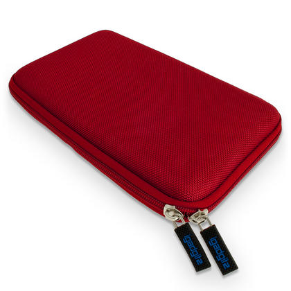 """iGadgitz Red EVA Hard Carry Case for Sony Xperia Z4 SGP771 10.1"""" Tablet Bag Thumbnail 3"""