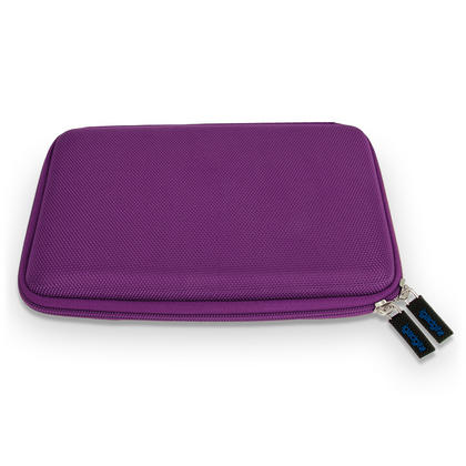"iGadgitz Purple EVA Hard Carry Case With Shoulder Strap for Sony Xperia Z4 SGP771 10.1"" Tablet Bag Thumbnail 5"