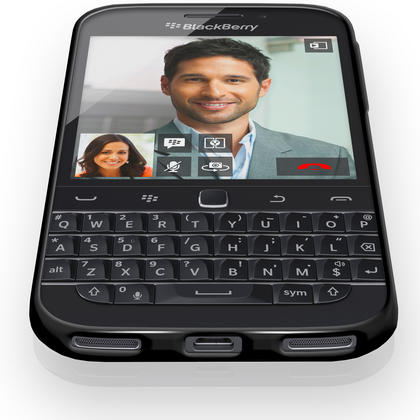 iGadgitz Glossy TPU Gel Skin Case Cover for BlackBerry Classic Q20 (2015) + Screen Protector Thumbnail 3