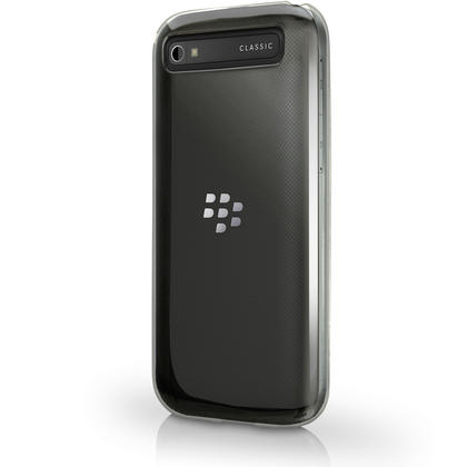 iGadgitz Glossy TPU Gel Skin Case Cover for BlackBerry Classic Q20 (2015) + Screen Protector Thumbnail 5