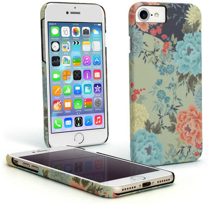"""iGadgitz 'Designer Collection' Snap on PC Hard Back Case Cover for Apple iPhone 6, 6S & 7 4.7"""" + Screen Protector Thumbnail 1"""