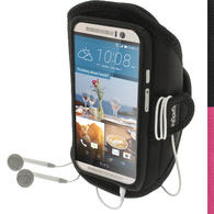 iGadgitz Water Resistant Running Jogging Gym Sports Armband for HTC One M9 (2015)