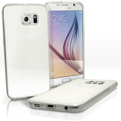 iGadgitz Glossy TPU Gel Skin Case Cover for Samsung Galaxy S6 SM-G920F + Screen Protector Thumbnail 3