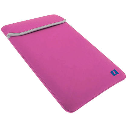 "iGadgitz Pink and Baby Pink Reversible Neoprene Sleeve Case Cover for New Apple MacBook 12"" (2015) Thumbnail 5"
